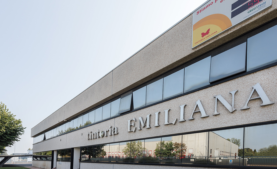 Nuovo stabilimento Tintoria Emiliana